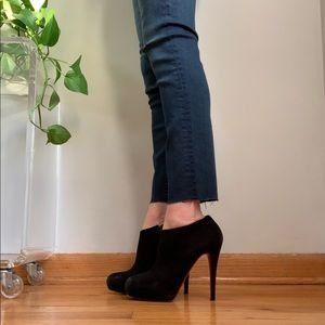 Christian Louboutin ankle boots shoes sz 37.5 7.5